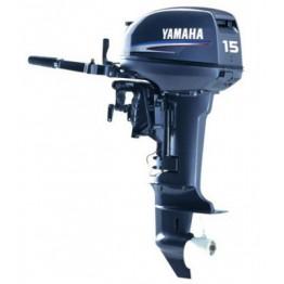 Подвесной 2-х тактный бензиновый лодочный мотор YAMAHA 15FMHS